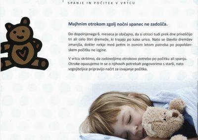 Vrtec Tržič, 2014, Spočiti rastemo kot gobice, Spanje in počitek v vrtcu, zloženka 3d