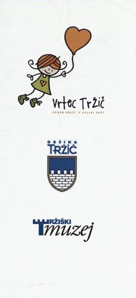 Vrtec Tržič, enota Deteljica, 2013, Zimska pravljica, vabilo na otvoritev razstave 3e