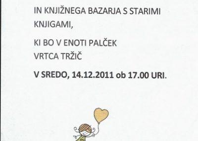 Vrtec Tržič, enota Palček, 2011, Beriva skupaj, vabilo na prireditev 3b